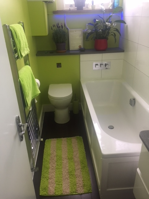 m bathroom after