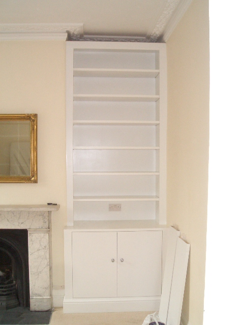 L rh alcove after