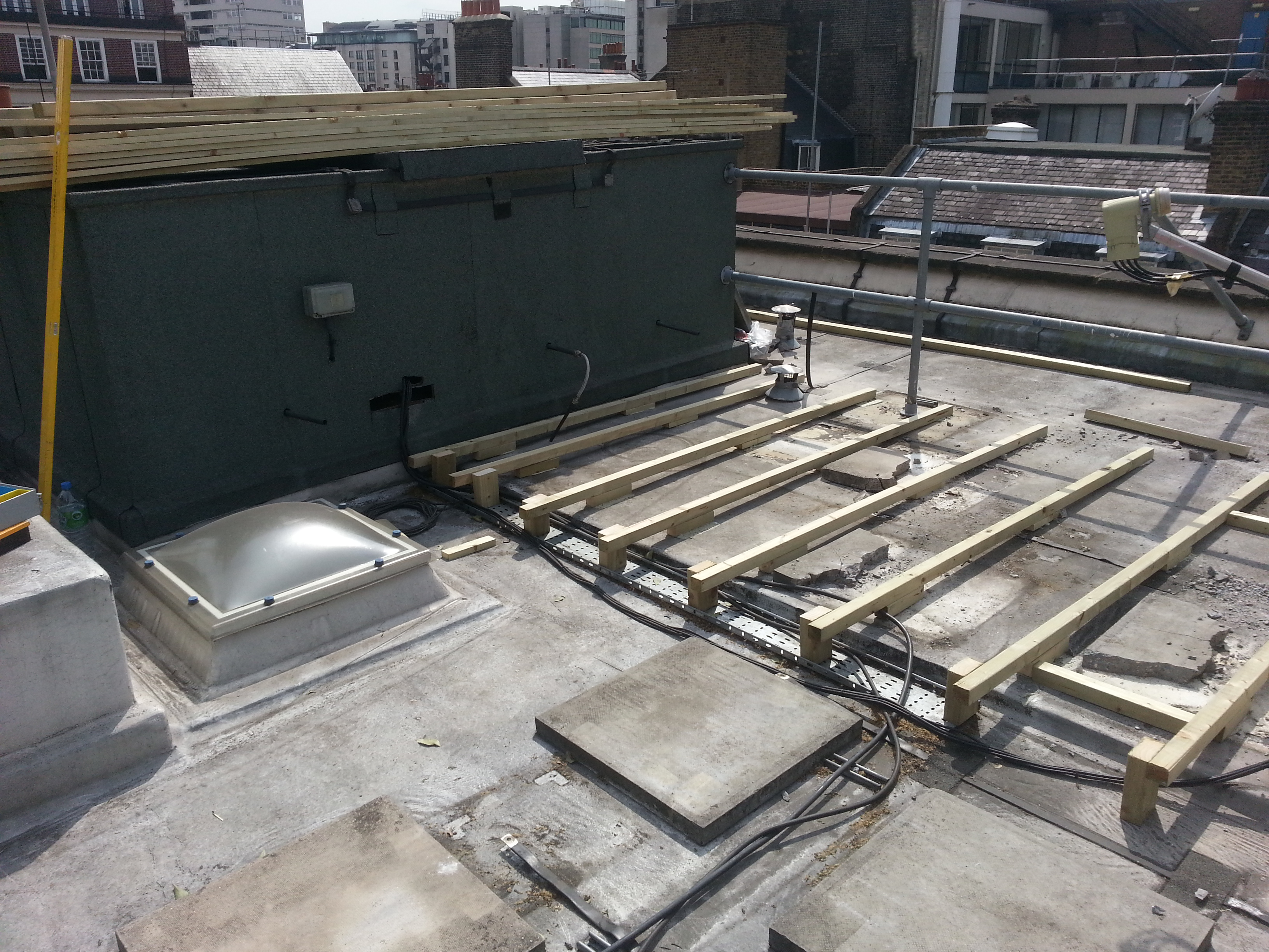 Mayfair Roof decking b4