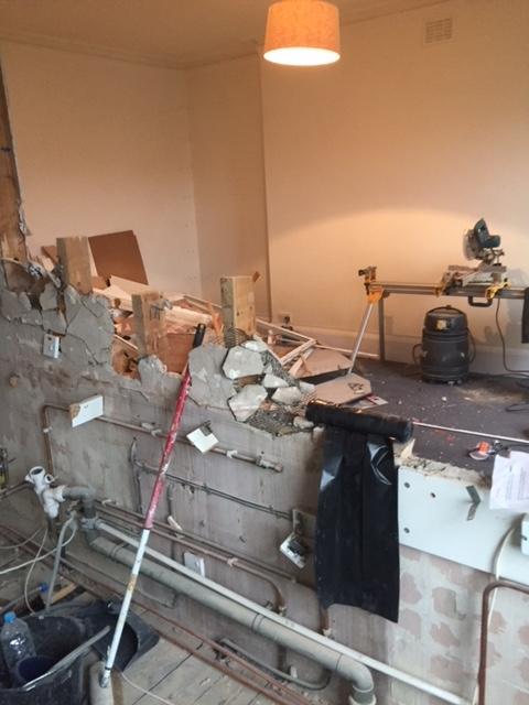 wall removal b4